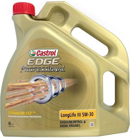 Castrol olje Edge Professional LongLife III 5W30, 4 l