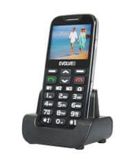 Evolveo EasyPhone XD, černá, nabíjecí stojánek - použité