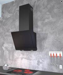 Siccabo kuhinjska napa Black Frame 60 TC