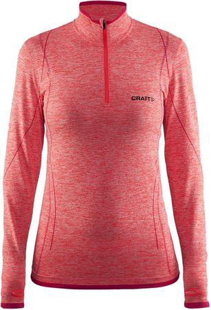 Craft majica Active Comfort Zip LS, oranžna, XS