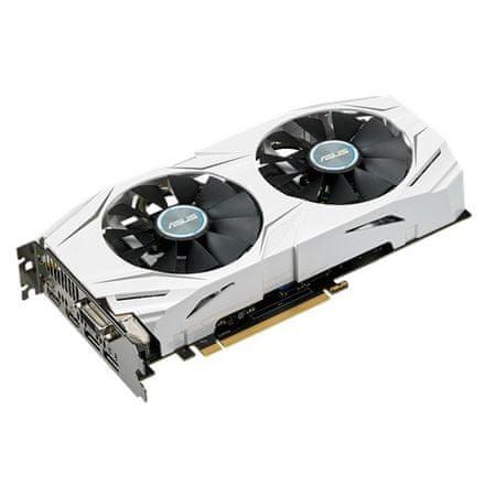Asus grafička kartica Dual GTX1060, 6GB GDDR5, PCI-E 3.0 (DUAL-GTX1060-O6G)