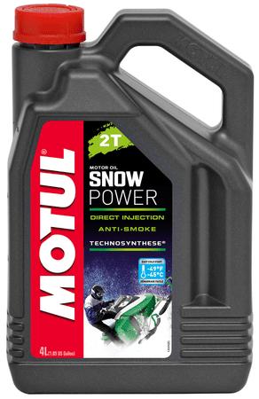 Motul olje 2T Snow Power, 4 l