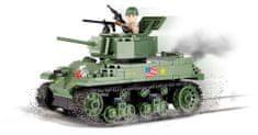 Cobi SMALL ARMY M5A1 Stuart VI - amerykański czołg lekki 2478