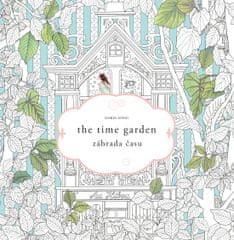 Song Daria: Záhrada času / the time garden-umelecké antistresové maľovanky