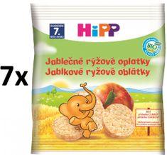 HiPP BIO Jablkové ryžové oplátky - 7x35g