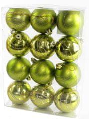 Seizis kuglice s dodatkom zelene, 12 kom