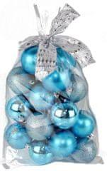 Seizis Sada gulí s dekorom v sáčku modré 20 ks