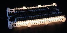 Seizis Elektrické osvetlenie 100 žiaroviek biele