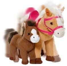 BABY born Interaktivní kůň s hříbátkem - rozbaleno