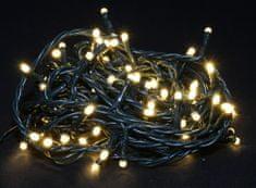 Seizis lampki świąteczne 100 LED, 8 funkcji, ciepły biały