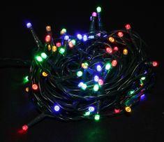 Seizis LED osvětlení 100 žárovek barevné, 8 funkcí