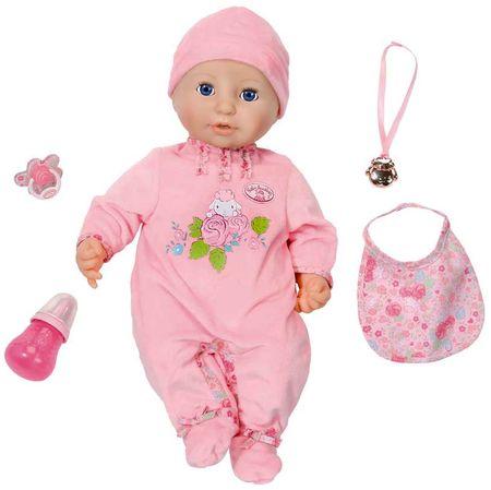 Baby Annabell Zapf Creation panenka s funkcemi a doplňky 43 cm