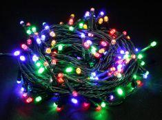 Seizis LED osvětlení venkovní barevné 180 žárovek