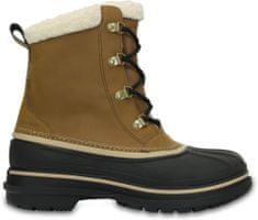 Crocs čizme AllCast II Boot, muške, smeđe-crne