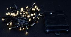 Seizis lampki świąteczne na zewnątrz 80 LED ciepły biały