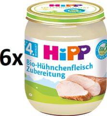 HiPP BIO Kuracie mäso - 6 x 125g