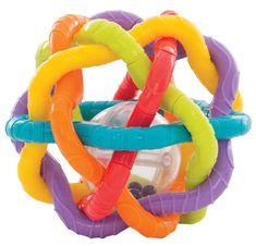 Playgro loptica s zvečkom