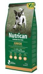 Nutrican hrana za mladiče in odraščajoče pse Junior, 15 kg
