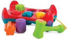 Playgro Zatĺkačka s tvarmi