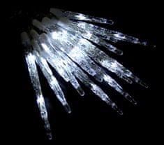 Seizis 18 LED kapajících rampouchů