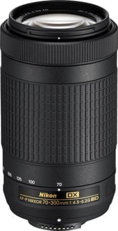 Nikon objektiv Nikkor AF-P DX 70-300/4.5-6.3 G ED
