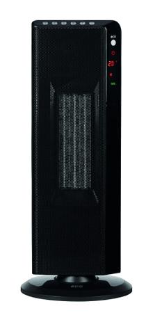 ECG KT 200 DT Elektromos hősugárzó, Fekete