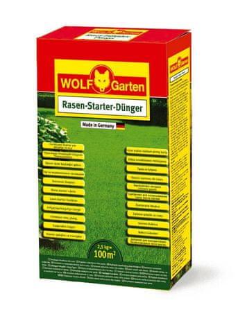 Wolf - Garten Startovací hnojivo na trávník LY-N 100