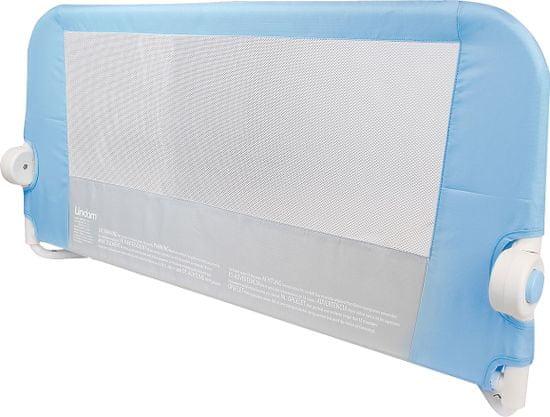 LINDAM Dětská zábrana k posteli - modrá