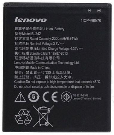 Lenovo BL242 Akkumulátor, 2300mAh