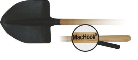 J.A.D. TOOLS łopata ostra MacHook 13032