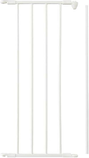 BabyDan Predĺženie pre priestorové zábrany NEW 33cm, biela