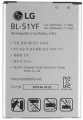 LG baterie, BL-51YF, 3000mAh, Li-Ion, BULK
