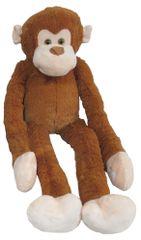 Mac Toys Pluszowa małpka z długimi rękami, jasnobrązowa 100 cm
