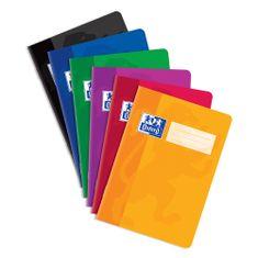 Oxford Školský zošit 460 - A4, čistý, 60 listov, mix farieb