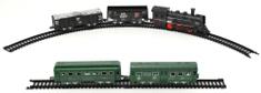 Teddies Vlak a 4 vagóny s kolejemi