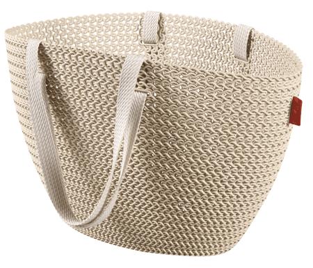 CURVER Knit táska Emily krémszínű