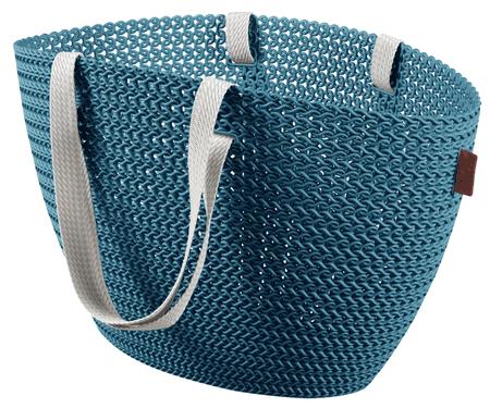 CURVER Knit táska Emily kék