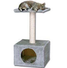Magic cat Miejsce do odpoczynku dla kota Hedvika 31x31x57 cm szaro-fioletowe