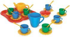 Wader Detská čajová súprava s podnosom 30- dielna,farebná