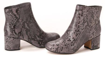 Clark's dámská kotníčková obuv Barley May 41 sivá
