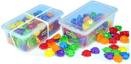 Wader Kostky műanyag puzzle, 120 db