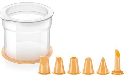 Tescoma zestaw cukierniczy DELÍCIA, stojak+końcowki