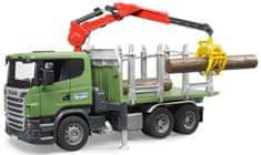Bruder 3524 Tovornjak Scania za prevoz lesa
