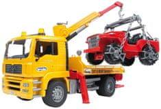Bruder vučna služba MAN i vozilo Jeep, 50 cm, 1:16, 2750