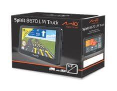 MIO navigacija Spirit 8670 Full Europe+Adria LM, Truck