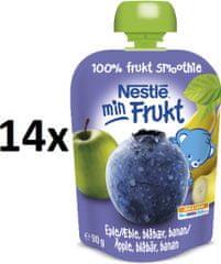 Nestlé kapsička Borůvka, Jablko 14x90g