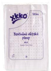 XKKO Bavlnené plienky 70x70 cm - 10 ks