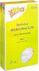 XKKO Pieluszki bawełniane Lux 70x70 cm - 10 szt.