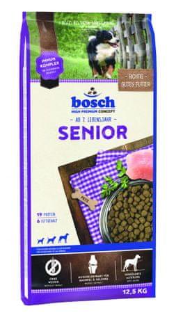 Bosch Senior Kutyatáp bárányhússal és rizzsel, 12,5 kg
