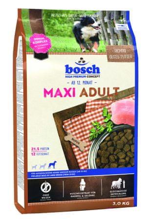 Bosch Maxi Adult Kutyatáp bárányhússal és rizzsel 3kg